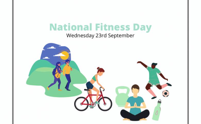 National Fitness Day: Wednesday 23rd September